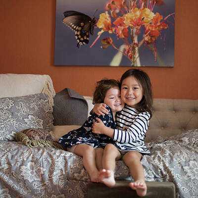 Photograph - Chloe And Ainsley by Dan McManus