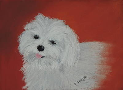 Pastel - Chloe's Angel by Carol Corliss