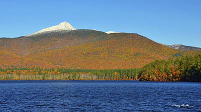 Pyrography - Chocorua October by Harry Moulton