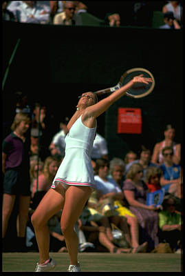 Photograph - Chris Evert Usa by Getty Images