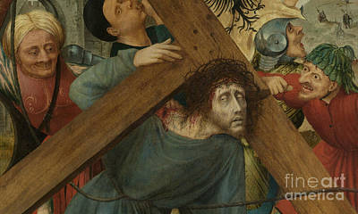 Painting - Christ Carrying The Cross, Detail by Quentin Massys