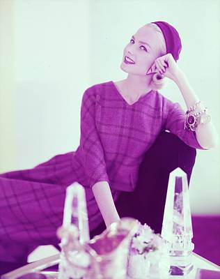 Photograph - Christa Vogel Wearing Mr. Gee by Horst P. Horst