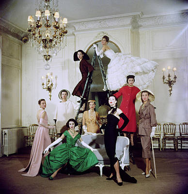 Photograph - Christian Dior Misc by Loomis Dean
