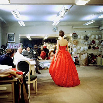 Photograph - Christian Diorchristian Dior Misc by Loomis Dean