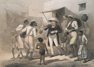 Christian Missionary Art Print by Hulton Archive