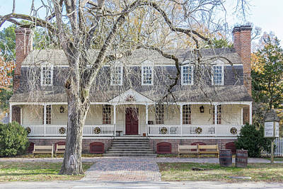 Photograph - Christiana Campbell Tavern by Teresa Mucha
