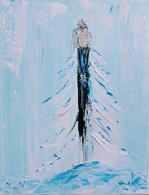 Painting - Christmas Angel by Jennifer Nease