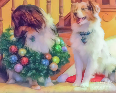 Photograph - Christmas Aussies by Cathy Donohoue