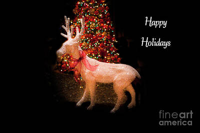 Photograph - Christmas Card, Happy Holidays 2018, 2 by Al Bourassa