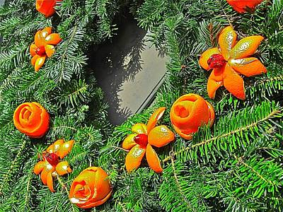 Photograph - Christmas Citrus by Don Moore