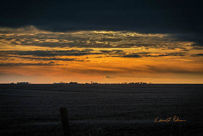 Photograph - Christmas Day Sunset by Edward Peterson