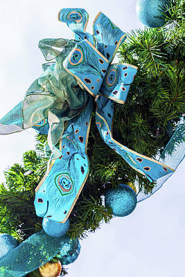 Photograph - Christmas Decorations by Jeanette Fellows