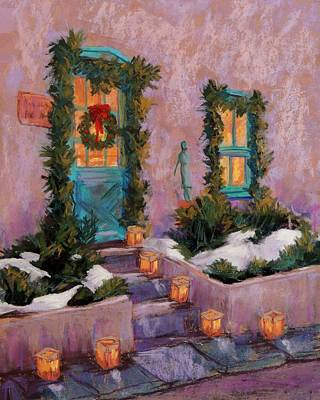 Wall Art - Pastel - Christmas Eve by Candy Mayer