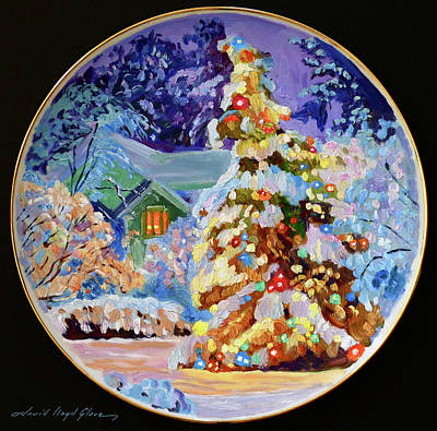 Painting - Christmas Eve by David Lloyd Glover