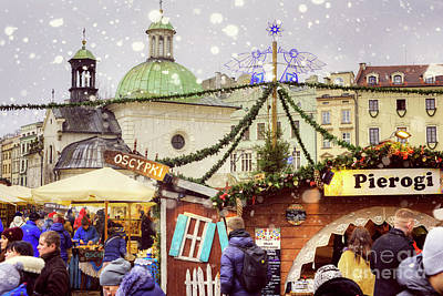 Photograph - Christmas In Poland by Juli Scalzi