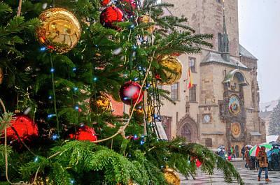 Photograph - Christmas In Prague by Jenny Rainbow