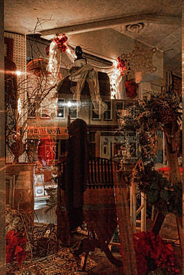 Photograph - Christmas In The Window by Sharon Popek