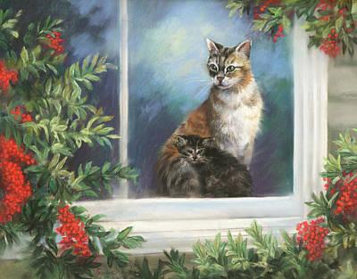 Christmas Kitten Original