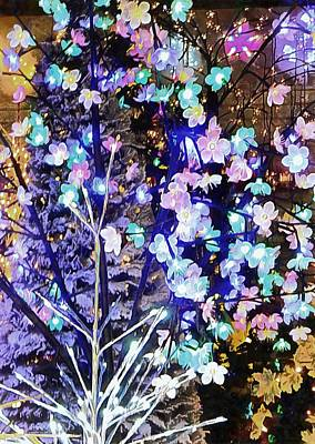 Photograph - Christmas Lights 5 by Dorothy Berry-Lound