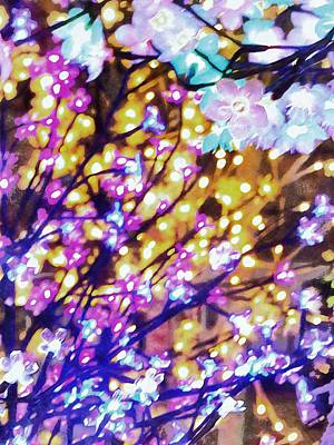 Photograph - Christmas Lights 6 by Dorothy Berry-Lound
