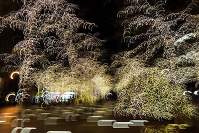 Photograph - Christmas Lights Reimagined by Georgia Mizuleva