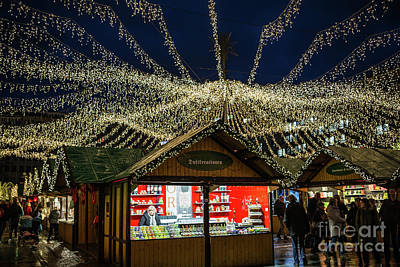 Photograph - Christmas Market In Essen by Eva Lechner