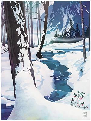 Fantasy Digital Art - Morning at Christmas Creek by Garth Glazier