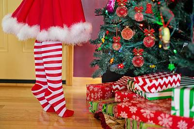 Photograph - Christmas Presents by Top Wallpapers