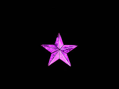 Photograph - Christmas Star  by Perggals - Stacey Turner