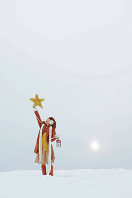 Hand Photograph - Christmas Story by Copyright Alpsrabbit* All Rights Reserved