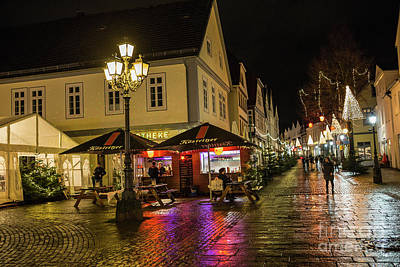 Photograph - Christmas Time In Bueckeburg by Eva Lechner
