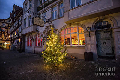 Photograph - Christmas Time In Hann.muenden by Eva Lechner