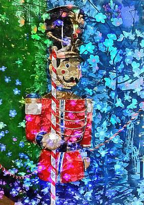 Photograph - Christmas Toy Soldier by Dorothy Berry-Lound
