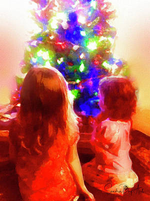 Digital Art - Christmas Wonder by Sandra Day