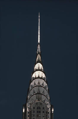 Photograph - Chrysler Building by Alfred Gescheidt