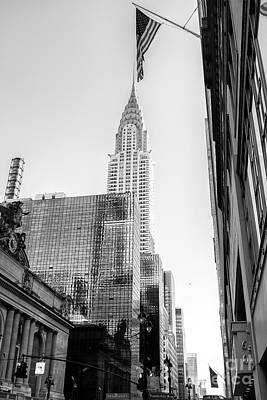 Photograph - Chrysler Building Rising New York City by John Rizzuto
