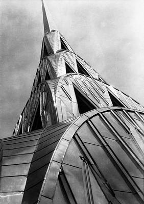 Architecture Photograph - Chrysler Building Spire by Margaret Bourke-white