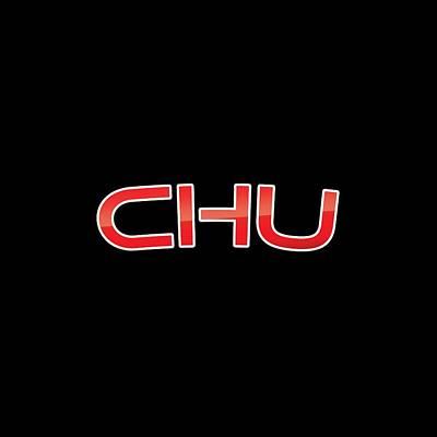 Chu Art Print