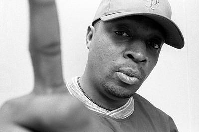 Photograph - Chuck D London 1997 by Martyn Goodacre