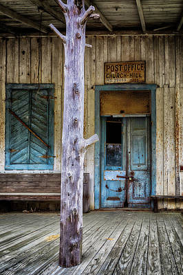 Photograph - Church Hill Post Office by Susan Rissi Tregoning