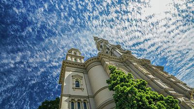Photograph - church in Sacramento - i thought it was legos  by Kenneth James