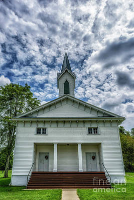 Photograph - Church In The Country  by Thomas R Fletcher