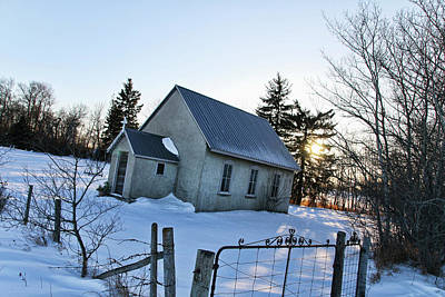 Photograph - Church On Brewer Road by Ryan Crouse