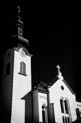 Photograph - Church Steeple Zirl Tirol by Elzbieta Fazel