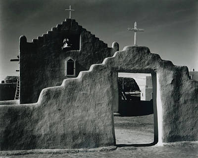 Photograph - Church, Taos Pueblo, New Mexico, 1941 by Archive Photos