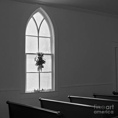 Photograph - Church Window by Patrick M Lynch