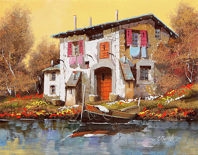 Royalty-Free and Rights-Managed Images - Un Cielo Giallo Caldo by Guido Borelli