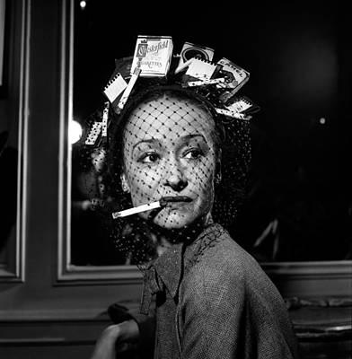 Photograph - Cigarette Hat For Ben Bess Hats by Robert Natkin