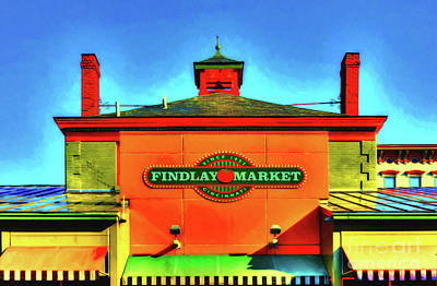 Photograph - Cincinnati's Findlay Market by Mel Steinhauer