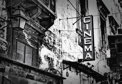 Photograph - Cinema by Susan Maxwell Schmidt